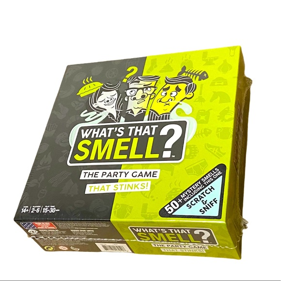 What's That Smell? Scent Guessing Game